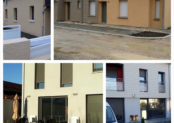 Peintures extérieures maisons proche de Bordeaux