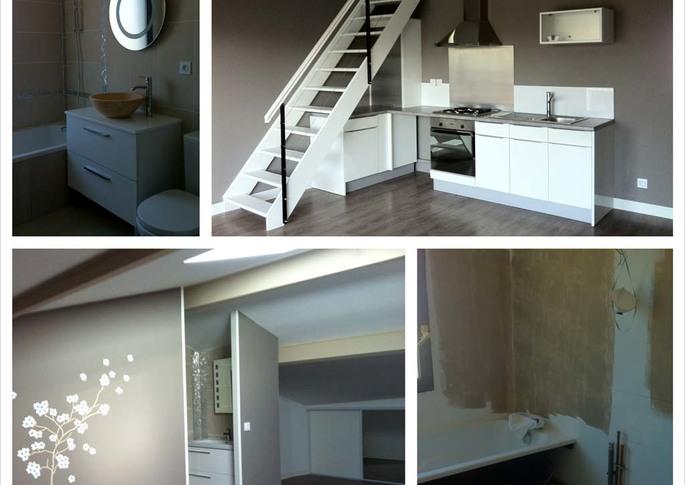 Travaux de peinture et sols appartement